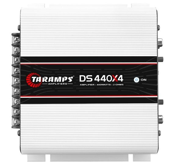 Taramps DS 440x4 4 Channel Amplifier - Iconic Sound Solutions