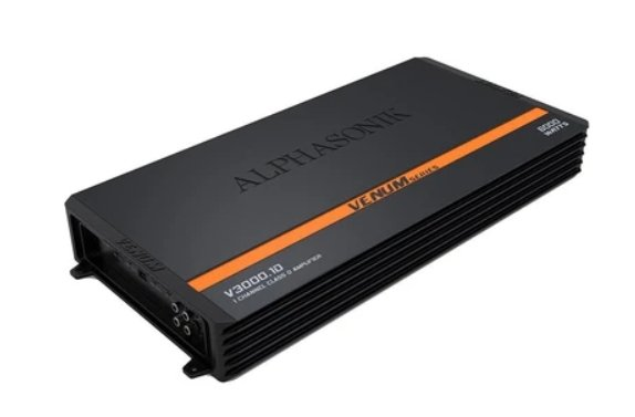 Alphasonik V-3000.1D Mono Amplifier - Iconic Sound Solutions