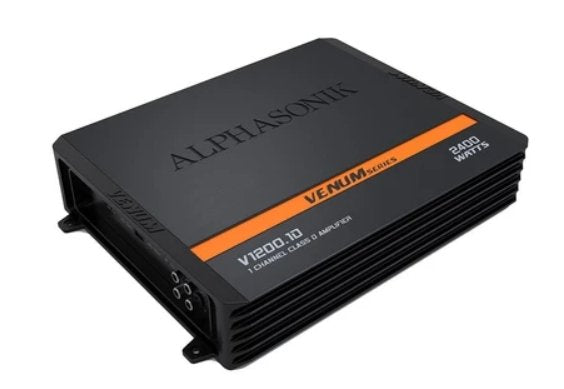 Alphasonik V-1200.1D Mono Amplifier - Iconic Sound Solutions