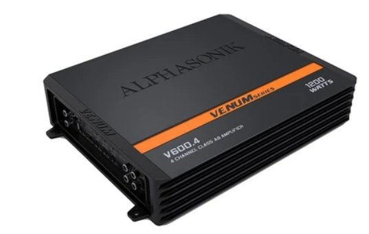 Alphasonik V-600.4 4-Ch Amplifier - Iconic Sound Solutions