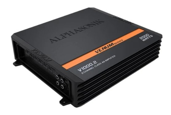 Alphasonik V-500.2 2-Ch Amplifier - Iconic Sound Solutions