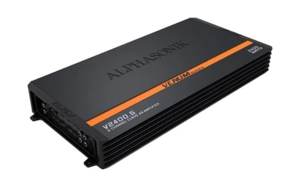 Alphasonik V1200.5 5-Ch Amplifier - Iconic Sound Solutions