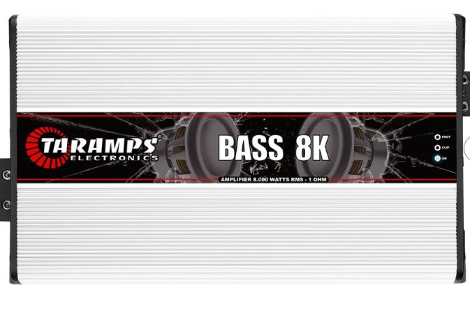 Taramps Bass 8k Mono Amplifier - Iconic Sound Solutions