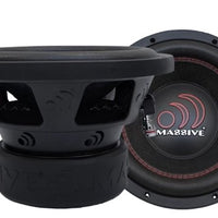 "Massive Audio GTX 6"" Subwoofer - Iconic Sound Solutions"