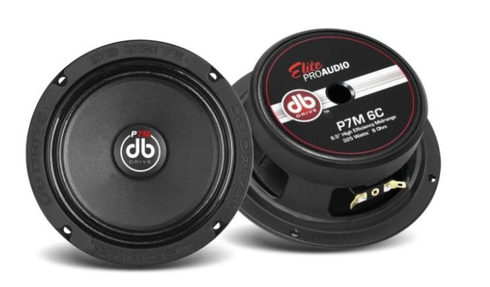 DB Drive P7M 6.5 Midrange - Iconic Sound Solutions