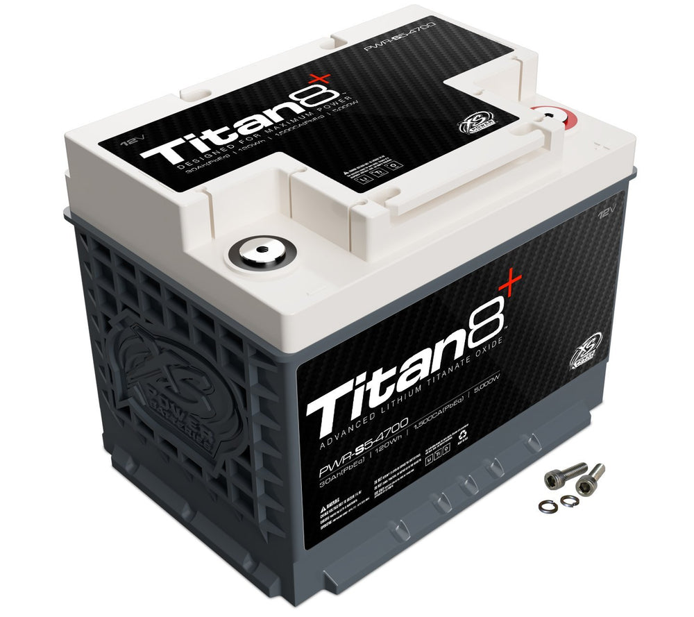PWR-S5-4700 - 12V Lithium Titan8 Direct Fit Battery