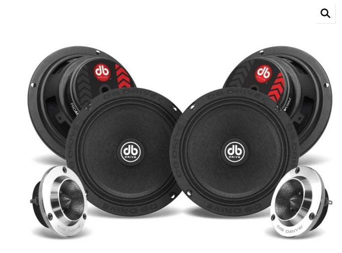DB Drive PRO6K4M 6.5 Component Set - Iconic Sound Solutions