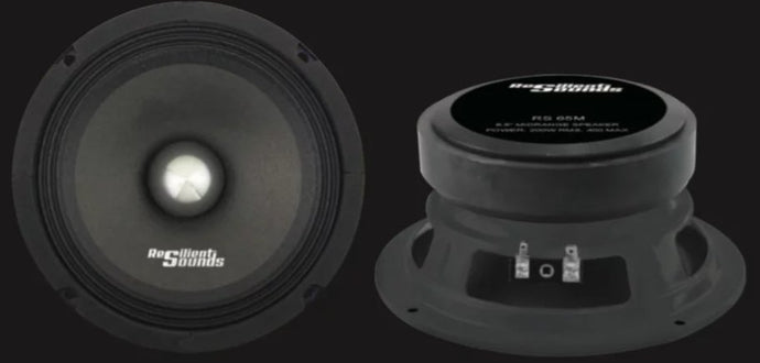 Resilient Sounds 6.5 Midrange Speakers - Iconic Sound Solutions