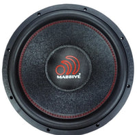 "Massive Audio Hippo XL 15"" Subwoofer - Iconic Sound Solutions"