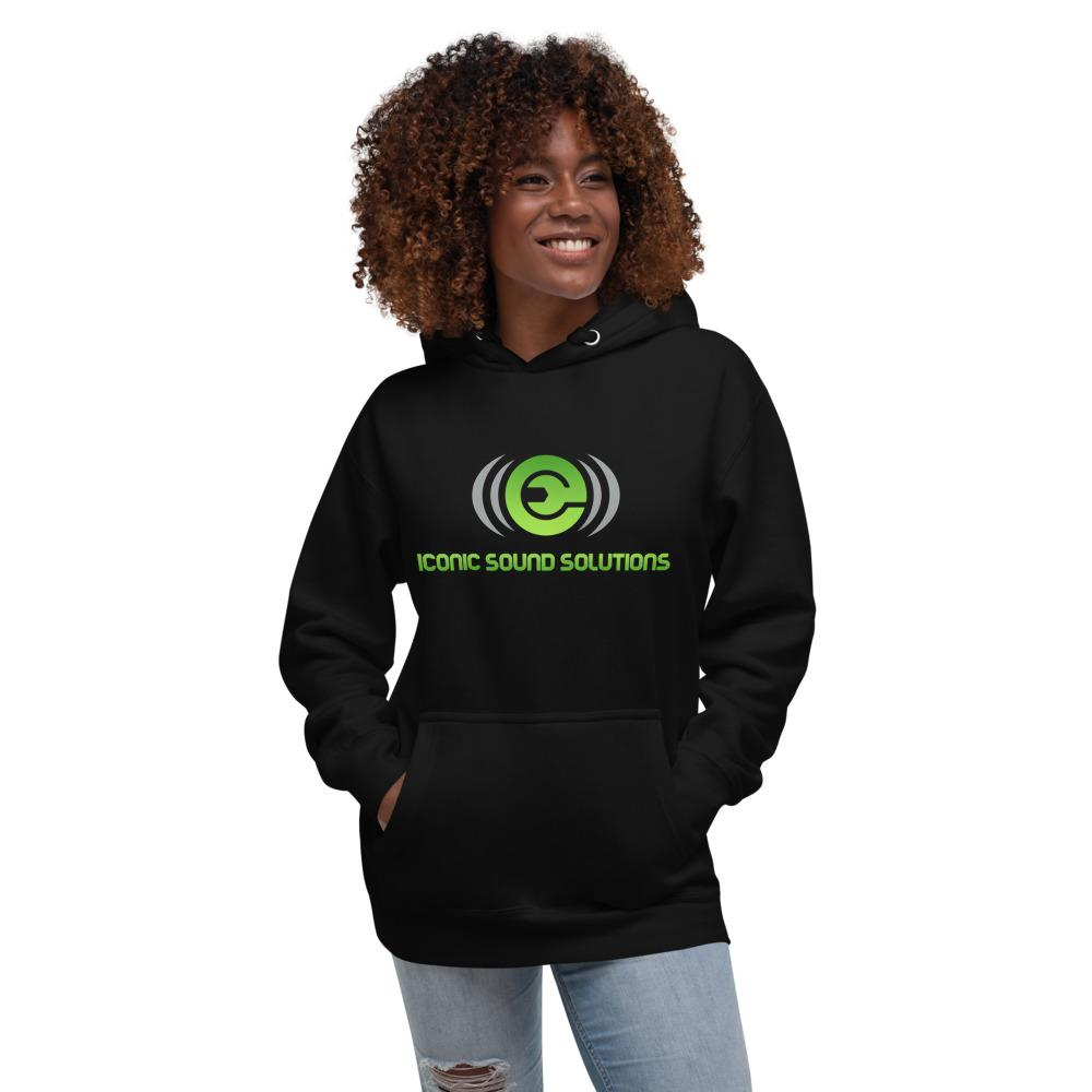 Women's Iconic Sound Solutions Hoodie - Iconic Sound Solutions