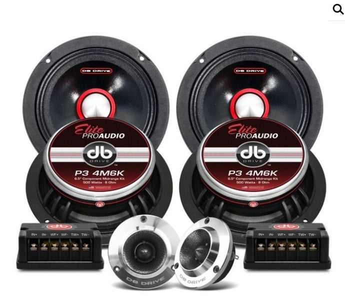DB Drive P34M6K Pro Audio Set - Iconic Sound Solutions