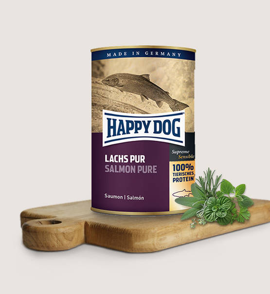 Happy Dog - Zalm Puur