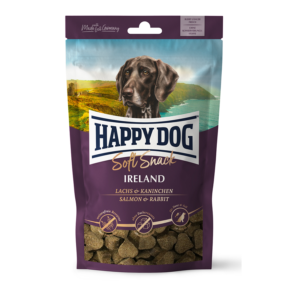 Happy Dog - Ireland Zalm/konijn soft snack