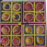 Decorative Diwali Diya In Assorted Design and Colour -Pack 4(BUY TWO GET 1 FREE)