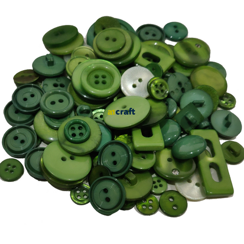 100G Assorted Size and Design Craft/Card Making/Sewing Buttons
