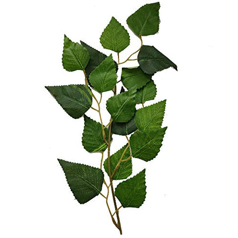 Artificial Leaves Spray for Home Décor, Floral Craft and Wedding Craft