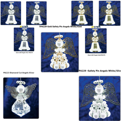 Pinflair Christmas 3D Angels Ornaments Kit