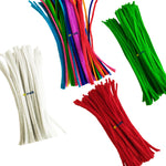 Chenille Stems Pipe Cleaners 300mmx6mm for Arts and Crafts