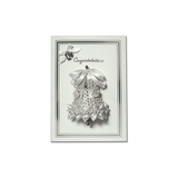 Pinflair Sequins Card Kit-Congratulation Ivory and White Bell