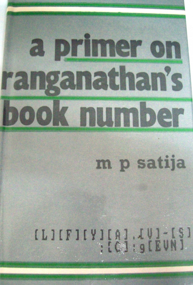 A Primer On Ranganathan's Book Number