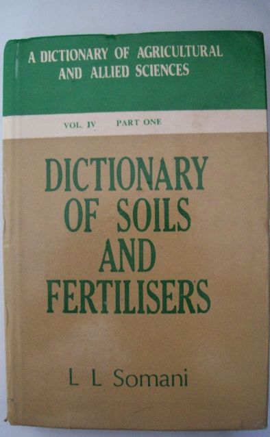 Dictionary Of Soil And Fertilizer (5 Parts)