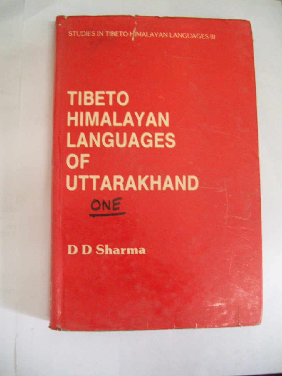 Tibeto-Himalayan Languages Of Uttarakhand (2 Parts)