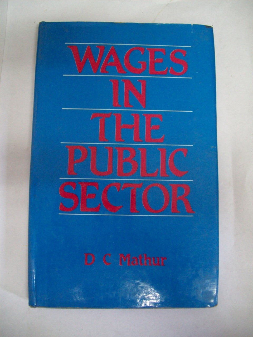 Wages In The Public Sector
