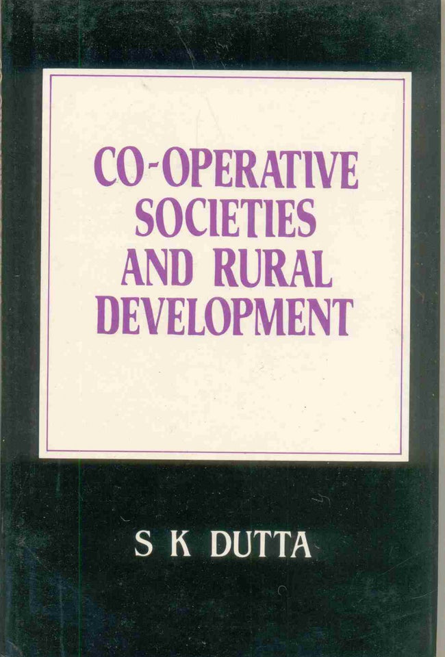 Co-Operative Societies and Rural Development