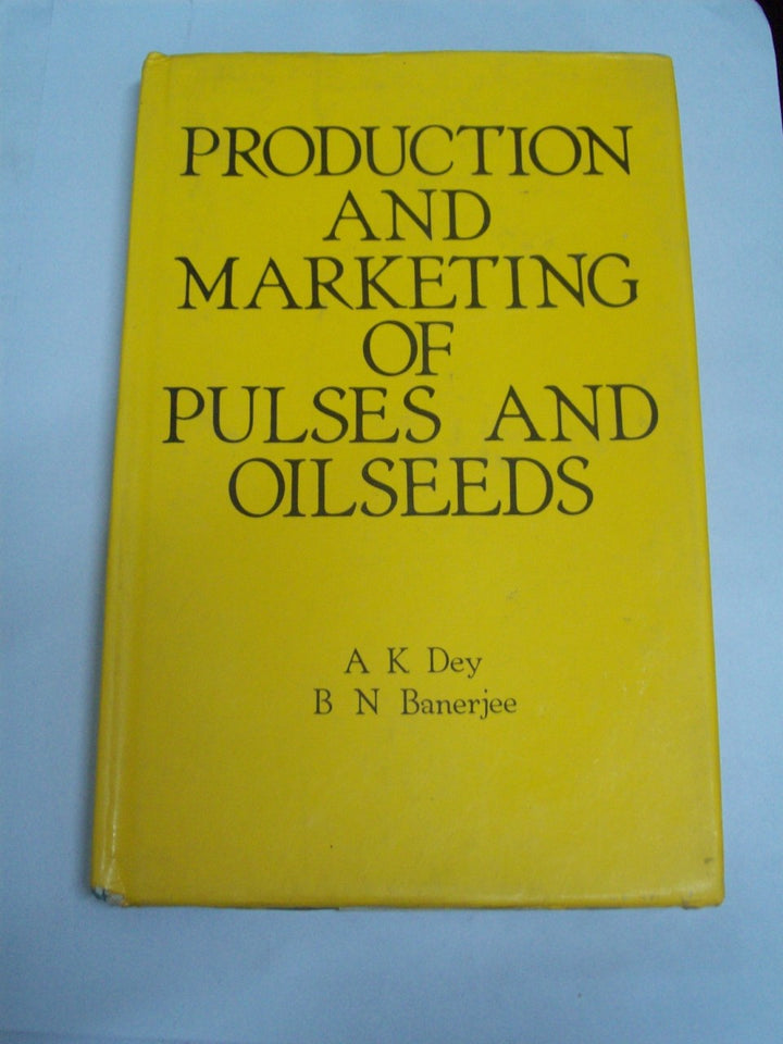 Production And Marketing Of Pulses And Oilseeds