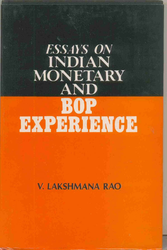 Essays On Indian Monetary And BOP Experience