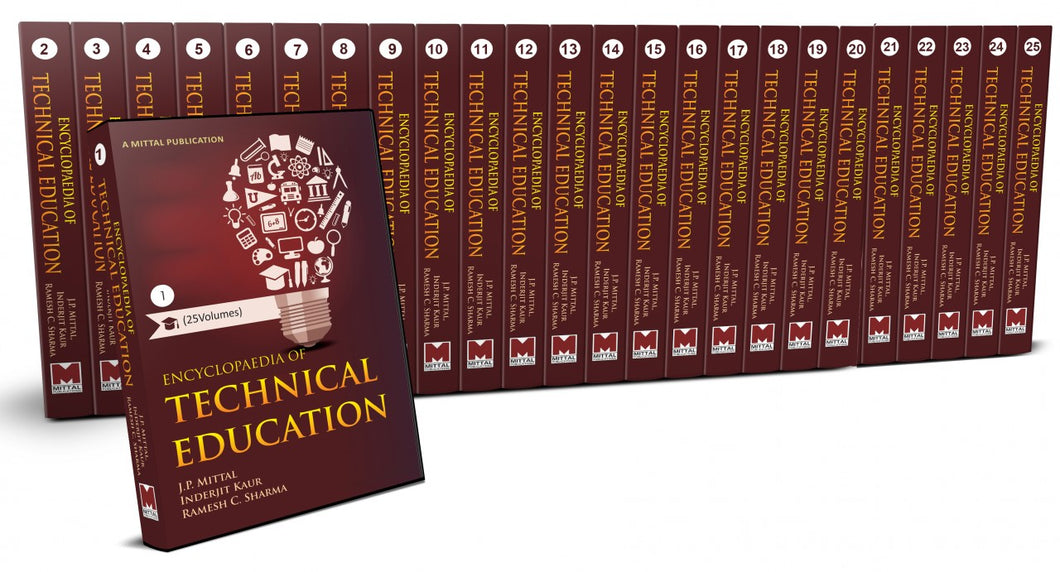 Encyclopaedia of Technical Education (25 Volumes)