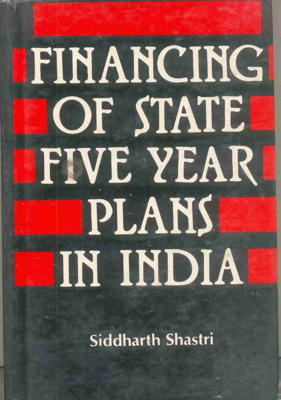 Financing Of State Five Year Plans In India