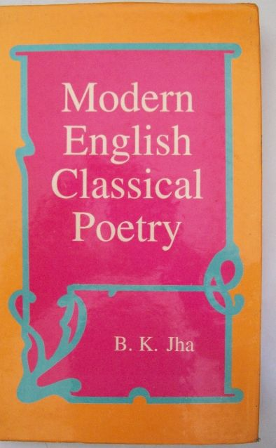 Modern English Classical Poetry
