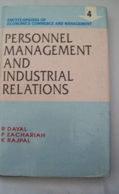 Encyclopaedia Of Economics, Commerce And Management-Personnel Management And Industrial Relations (Vol. 4)