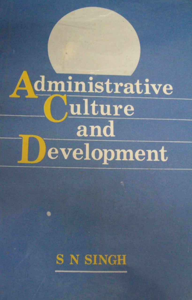 Administrative Culture and Development