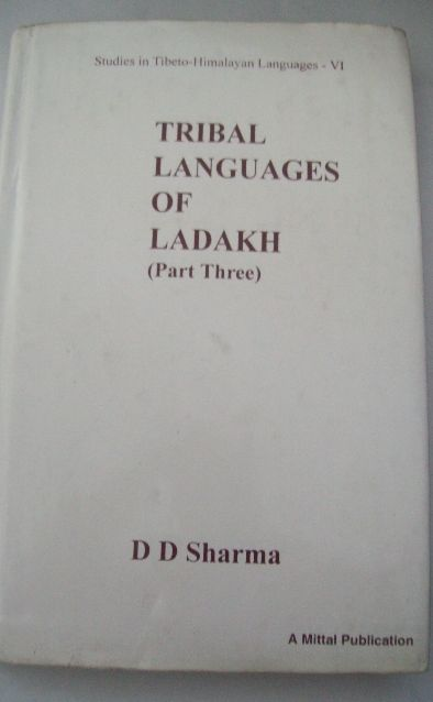 Tribal Languages of Ladakh (Part 3)