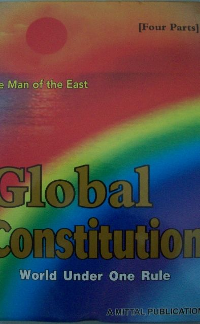 Global Constitution –World Under One Rule (4 Parts)