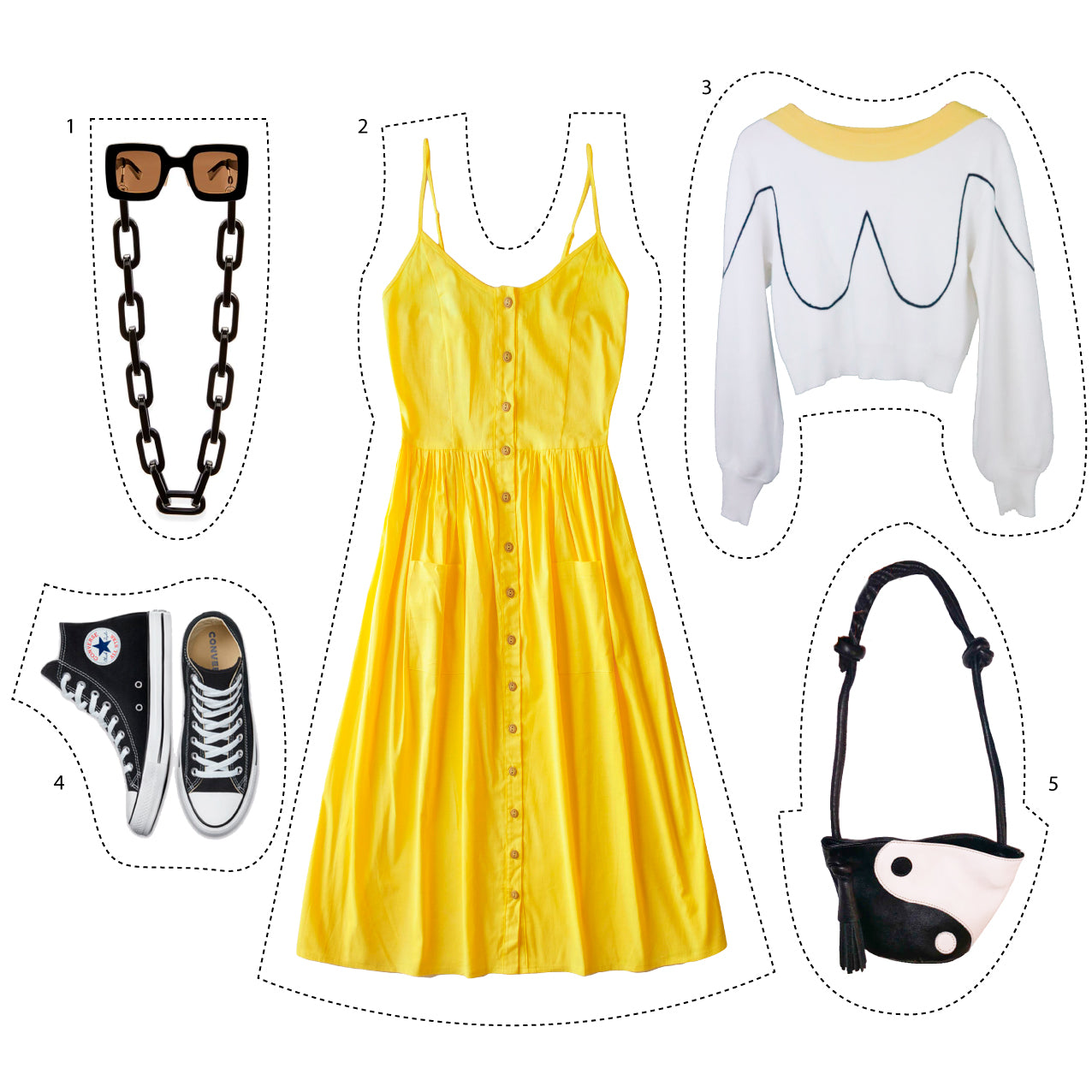 Looks for spring yellow and flowers
