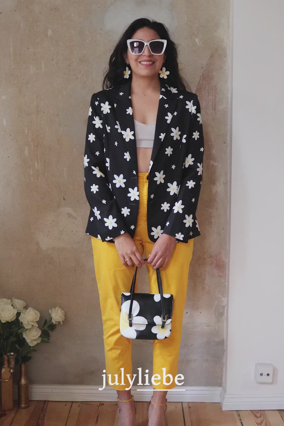 NIGHT BLOSSOM LONG BLAZER