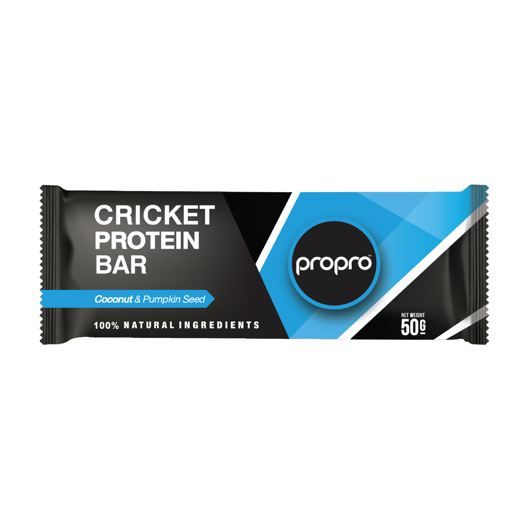 ProPro Coconut & Pumpkin Seed // Cricket Protein Bar