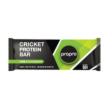 Load image into Gallery viewer, ProPro Lime & Lemongrass // Cricket Protein Bar