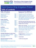 Point-Source Drip Irrigation Guide - Water Wise Now