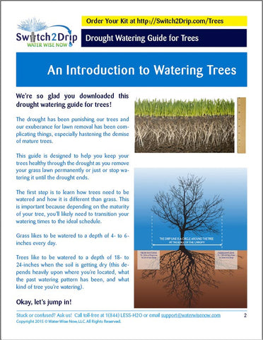 Switch2Drip Tree Guide - Water Wise Now