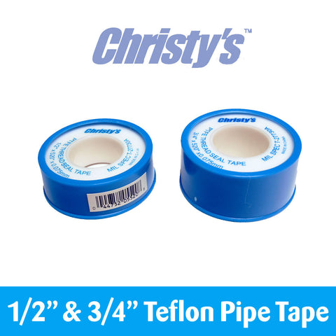 "Teflon Pipe Tape (1/2"" and 3/4"") by Christy's - Water Wise Now"