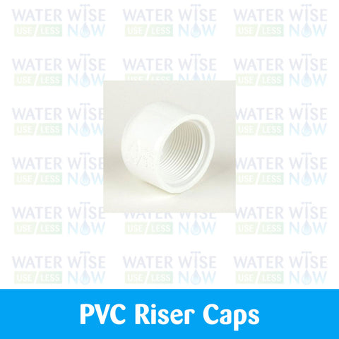 PVC Caps, Female Threaded - Water Wise Now