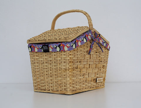 "Natural Basket  ""Squirel Bang Bang"""