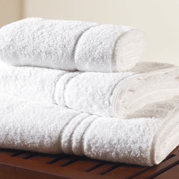 White Hire Towels 500gsm - Total Linen
