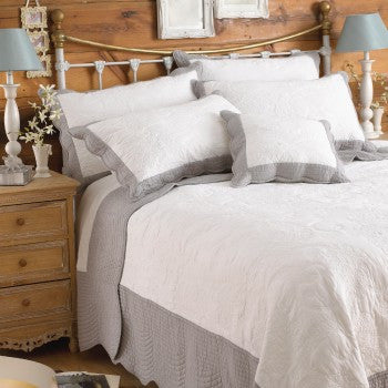 Paoletti Fayence 100% Cotton Bedspread - Chatelaine Linens