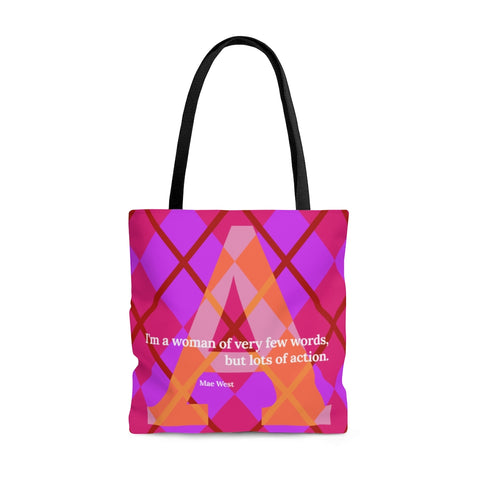 Action Argyle - tote bag