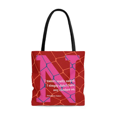 Naked Net - tote bag